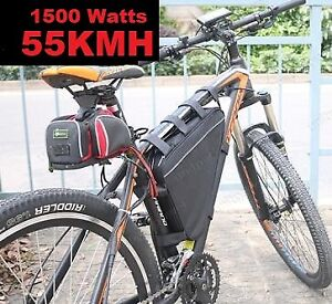 brand new fast 55kmh 1500w high power off road electric bike