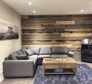 WOOD FEATURE WALLS, Reclaimed Wood Panelling - DIY Ready! Kitchener / Waterloo Kitchener Area image 8
