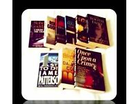 CRIME BOOKS - (9) - PAPERBACK - FOR SALE