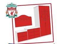 Liverpool FC Official Young Supporters Licensed Bedroom Football Furniture