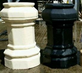 (Bushmills)New Octagon Chimney Pots. Keenly priced