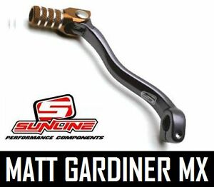Details about sunline motocross mini pit bike alloy gear lever shifter