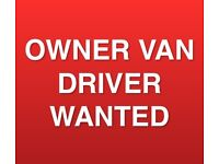 Owner Van Driver Wanted To Collect Household Items & Dispose Of