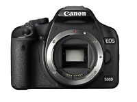 Canon EOS 500D Digital SLR Camera (15.1 MP, 3.0 inch Clear View VGA LCD) Body Only