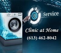 Clinic at Home Appliances Repair 40$ Service - Same Day