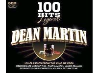 DEAN MARTIN BOX SET 100 HITS ON 5 CDs BRAND NEW SEALED