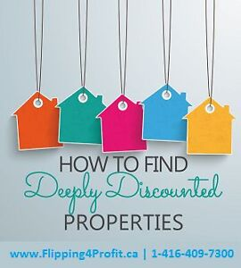 "Learn ""How to find deep discounted real estate deals in Ottawa"""