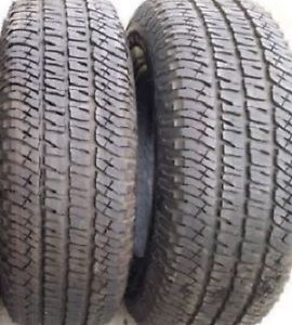 *Priced to sell* 285 65 18 Michelin LTX AT 2-Set of 2