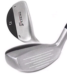 (2) TaylorMade R7 Rescue Mid 16° (2)  Hybrid et 25°(5), A1