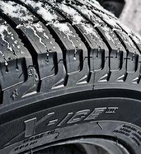 Almost NEW Winter tires AND rims! Peterborough Peterborough Area image 1