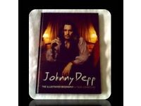 JOHNNY DEPP - 'THE ILLUSTRATED BIOGRAPHY' - HARDCOVER - FOR SALE