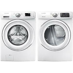 BRAND NEW SAMSUNG FRONT LOAD WASHER AND DRYER--ONE YEAR MANUFACTURER WARRANTY!