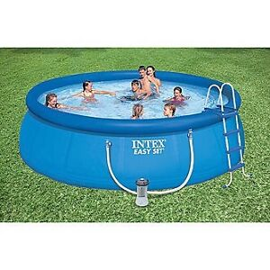 "15' x 48"" Round Intex Pool"