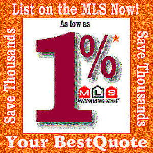 LIST YOUR HOME FOR SALE FOR 1% ONLY