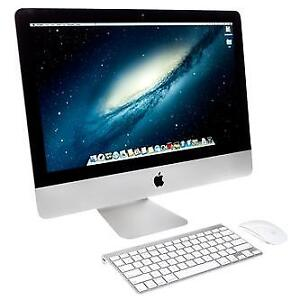 21.5 Inch iMac Desktop with Wireless Track Pad and Keyboard