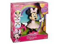 BNIB Disney Minnie Mouse Rainbow Dazzle Minnie
