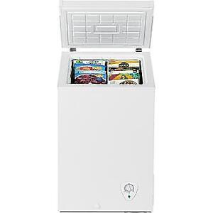 Need small deep freezer & water cooler for Senior