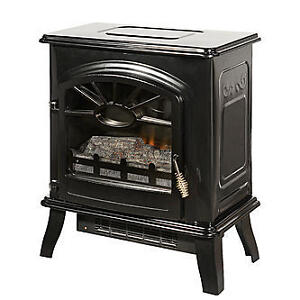 Albion electric fireplace with heater