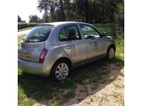 Nissan Micra SVE lots of extras low mileage excellent car