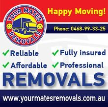 YOUR MATES REMOVALS  $39phh Sydney removal Company. Manly Area Preview