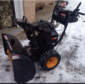 I deliver an affordable snowblower to you