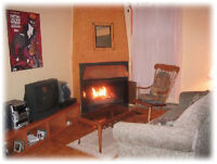 Beautiful Fully Furnished Apartment with fireplace in Villeray