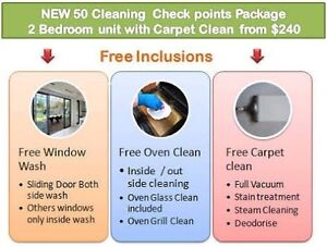 End of lease cleaning with free carpet steam clean Rivervale Belmont Area Preview