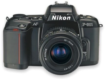 Nixon camera f-601