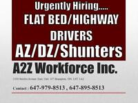 URGENTLY  REQUIRED AZ DRIVER ONLY FOR SWITCHES (MINIMUM 2 YEARS