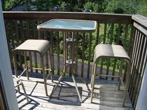 Patio Table and 2 Chairs $29