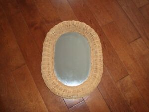 Wicker Mirror  $5