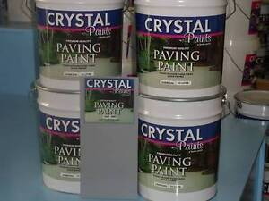 CEMENT PAINT 40 LITRES LIGHT GREY EXTERIOR INTERIOR Wetherill Park Fairfield Area Preview