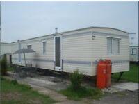 3 BEDROOMS 8 BERTH CARAVAN FOR HIRE/FANTASY ISLAND,SKEGNESS SAT 8TH- SAT 15TH OCT £130