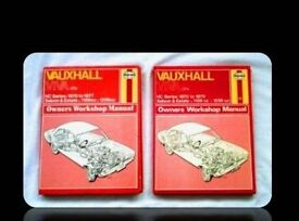 HAYNES CAR SERVICE AND REPAIR MANUALS - VAUXHALL VIVA (2) - FOR SALE