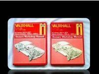 HAYNES CAR SERVICE AND REPAIR MANUALS - VAUXHALL VIVA (2) - FOR SALE