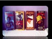 CLASSIC JOHN WAYNE FILMS - (4) - VHS TAPES - FOR SALE