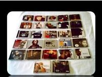 MUSIC CDS - R & B - MALE SINGERS (27 discs)- FOR SALE