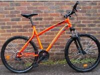 LIKE NEW ALUMINIUM MOUNTAIN BIKE B'TWIM ROCKRIDER 340 - DECATHLON MTB BICYCLE - 1 WEEK OLD MTB
