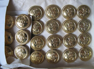 RCN Brass Buttons London Ontario image 1