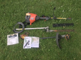 Flymo Multi-tool XLT3000 hedge cutter, strimmer and brush cutter