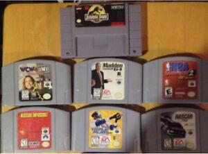 Nintendo 64 Super Nintendo snes n64 Jurassic park