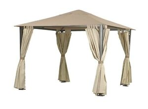 3m-x-3m-Waterproof-Canopy-for-Camelot-CAM0436-Regency-Full-Steel-Patio-Gazebo