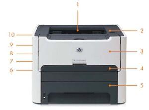 LaserJet 1320n Network Printer with Server, 1200 dpi