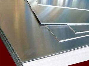 ALUMINUM AND Stainless Steel Sheets CUT 2 Size