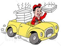 Delivery driver wanted for pizza takeaway curry shop in pudsey Leeds