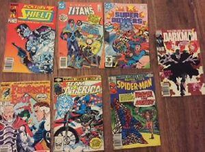 for sale-seven comics