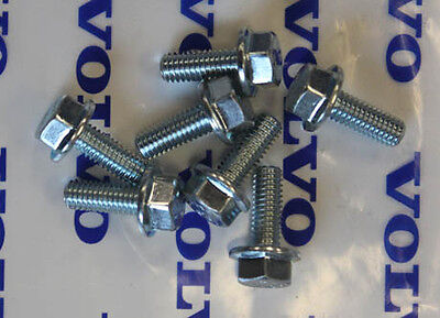 Volvo 240 242 244 245 Engine Splash Guard Skid Plate Mounting Screws -