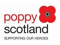 Scottish Poppy Appeal Area Organiser for South Queensferry