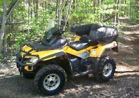 2010 CAN AM outlander  VTT 650