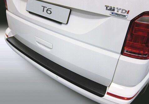 BLACK SMOOTH RGM REAR GUARD BUMPER PAINT SILL SCUFF PROTECTOR VW T6 6.15> RBP850